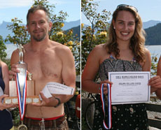 Todd Clark & Meghan Straight, overall winners
