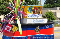 Toot-Sea parade float